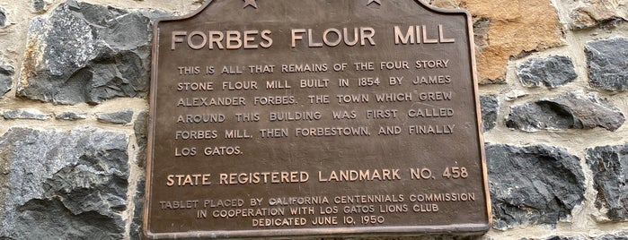 Forbes Mill Museum is one of SF Bay Area - been there I.