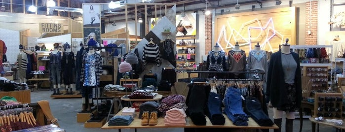 Urban Outfitters is one of San Diego.