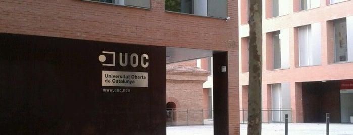 UOC - Universitat Oberta de Catalunya is one of jordi'nin Beğendiği Mekanlar.