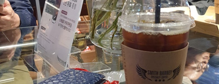 Smith Barney Specialty Coffee is one of 여의도.