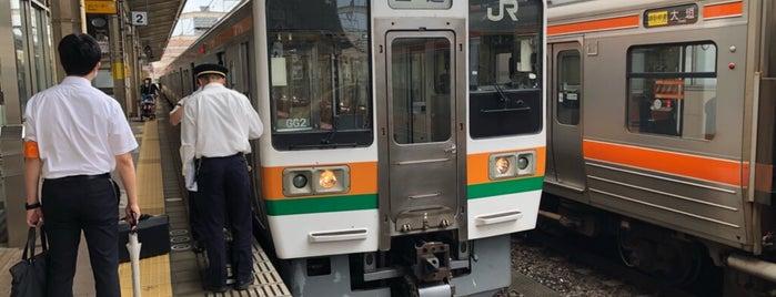 Platforms 1-2 is one of 浜松駅関連.
