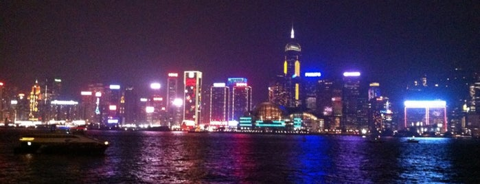 Victoria Harbour is one of 101个宿位,在香港见到你死之前 - 101 places in Hong Kong.