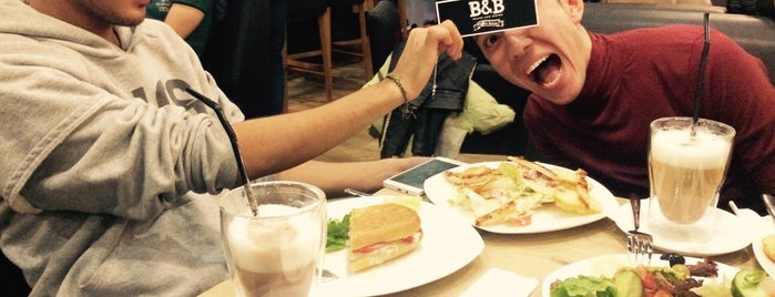 B&B Coffee House is one of Ali'nin Beğendiği Mekanlar.