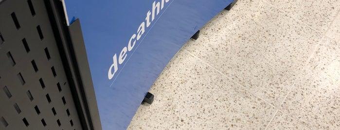 Decathlon is one of Locais curtidos por Emerson.