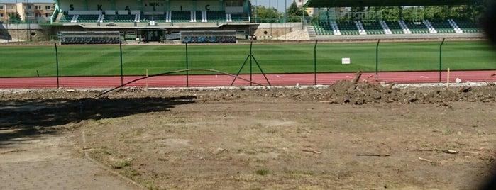 Letný štadión MFK Skalica is one of Prvoligové futbalové štadióny.