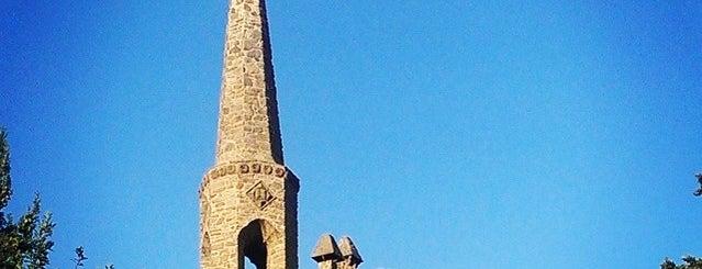 Torre Bellesguard is one of barcelona • outdoor.