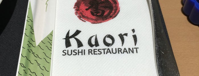Kaori Sushi Restaurant is one of A comer y a beber.