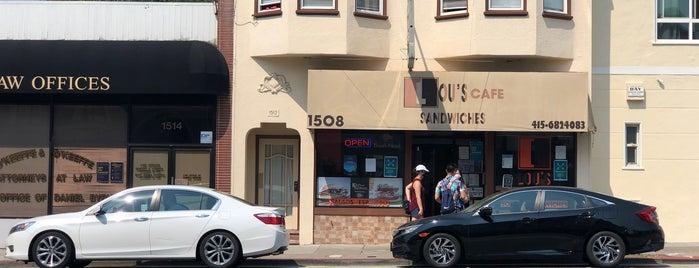 Lou's Cafe is one of Locais salvos de Drew.