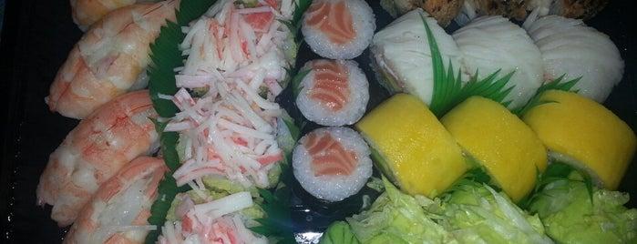 Sushi Bento is one of Tempat yang Disimpan Mil e Uma Viagens.