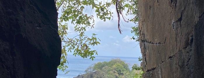 Praia do Sancho is one of Noronha.