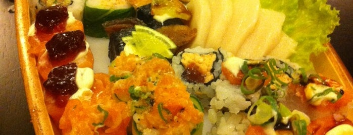 Kazami Sushi is one of Posti che sono piaciuti a Fernando.