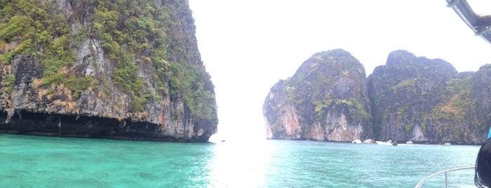 Maya Bay is one of Before you die.