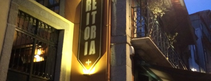 Reitoria is one of Oporto.