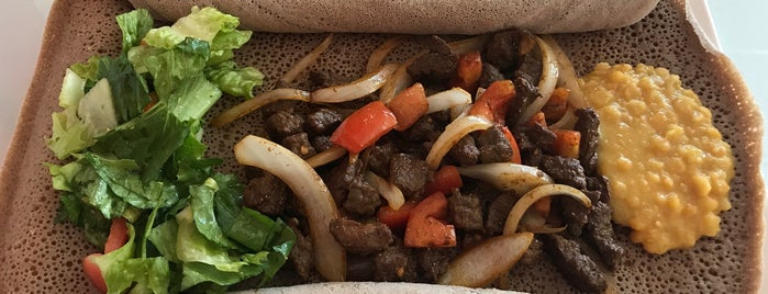 Desta's Ethiopian Cuisine is one of Want to Try.