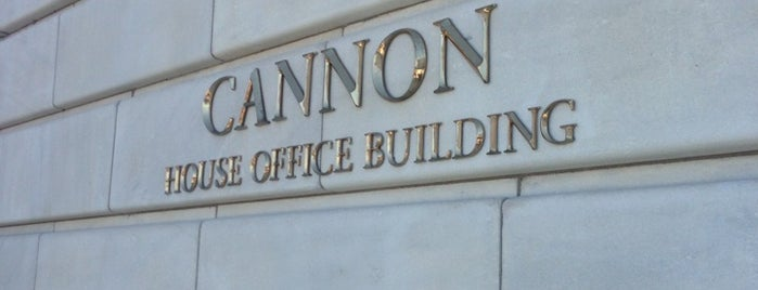 Cannon House Office Building is one of DC Bucket List.