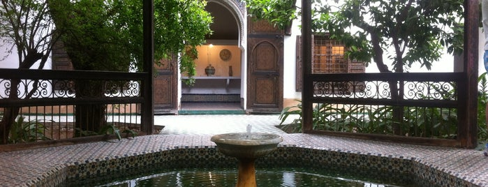 Musée Dar Si Saïd is one of marrakech.