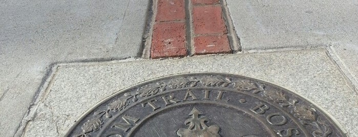 The Freedom Trail is one of Tempat yang Disukai Cole.