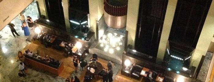 Ouro Minas Palace Hotel is one of Locais curtidos por Be.