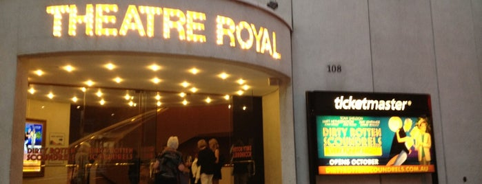 Theatre Royal is one of Australia.