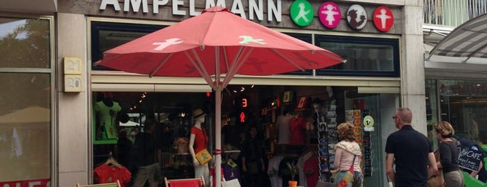 AMPELMANN Shop is one of to do list in Berlin.