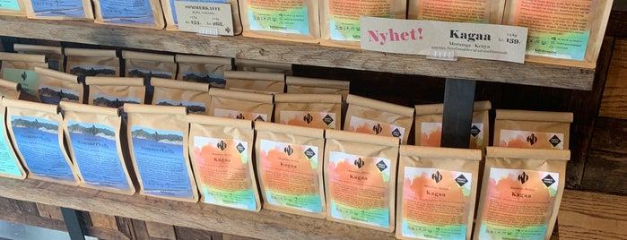 Kaffebrenneriet Vikaterassen is one of Norway.