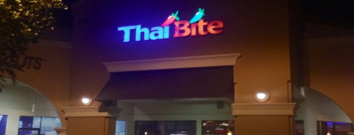 Thai Bite is one of Locais curtidos por Stacey.