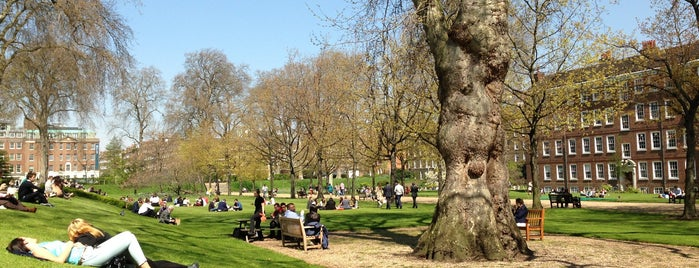 Gray's Inn Gardens is one of Date Possibilities.