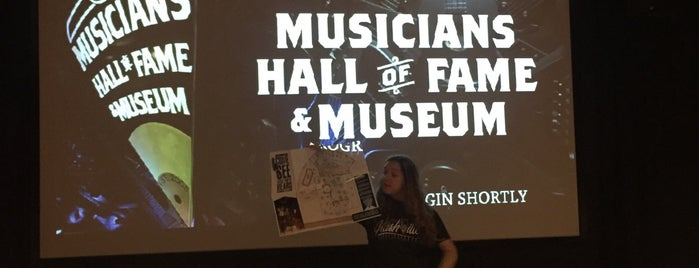 Musicians Hall of Fame is one of Locais curtidos por Lisa.