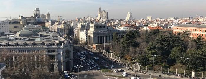 Mirador del Palacio de Cibeles is one of Madrid.