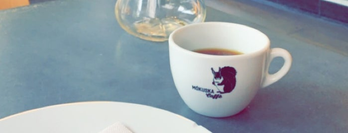 Mókuska Caffè is one of Posti salvati di Jana.