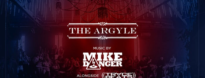 The Argyle is one of Orte, die Alina gefallen.