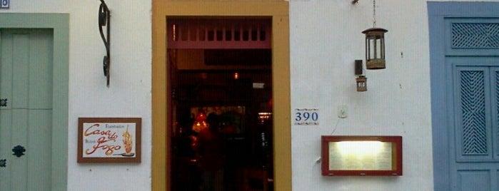 Restaurante Bistrô Casa do Fogo is one of comida baiana.