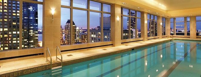 Mandarin Oriental is one of NYC Pools.