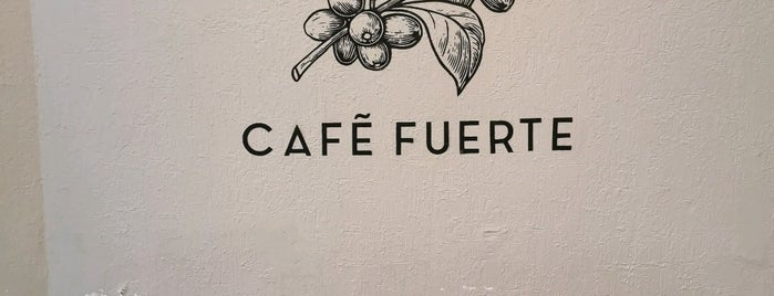 Café Fuerte is one of CDMX: Nápoles/Del Valle/Narvarte.
