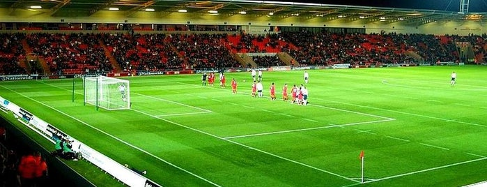 Keepmoat Stadium is one of Venues....