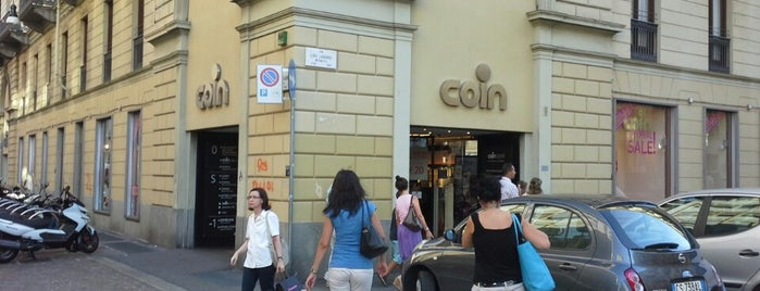 Coin is one of 4sq Specials in Turin.