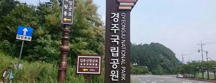 경주국립공원 화랑지구 is one of Gyeongju (경주시).