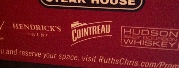 Ruth's Chris Steak House is one of Favorite Restaurants.