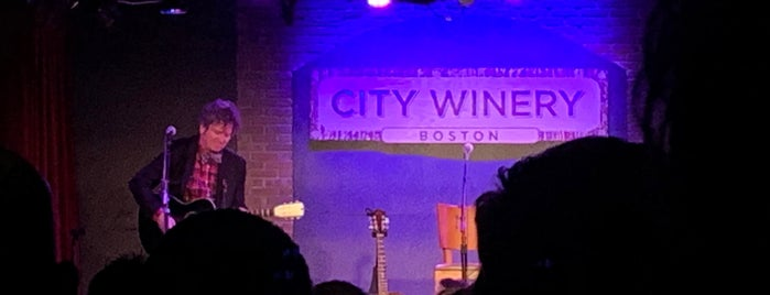 City Winery is one of Locais curtidos por Zoe.