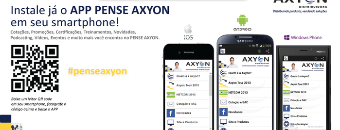 Axyon Distribuidora is one of Tempat yang Disukai Guilherme.