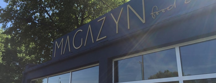 MAGAZYN food concept is one of Poznań for dog lovers.