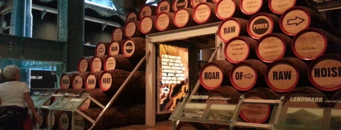 Guinness Storehouse is one of The Ultimate Guide to Dublin.