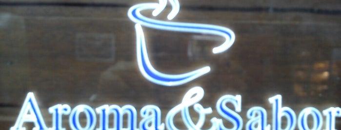 Aroma & Sabor Cafeteria is one of Lugares favoritos de M.a..