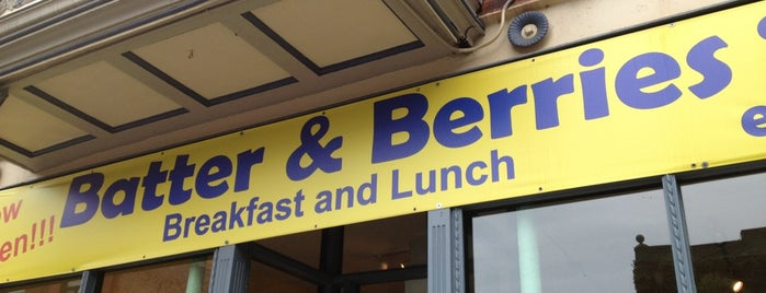 Batter & Berries is one of Places to go.