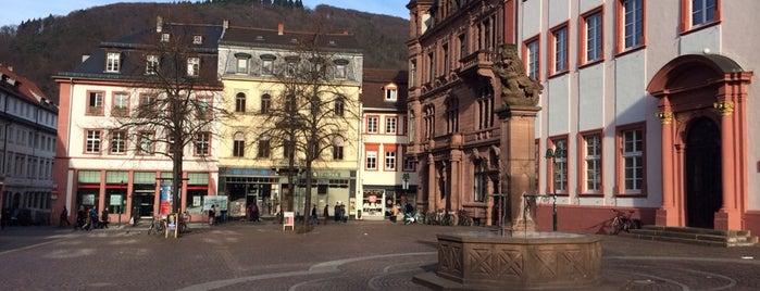 Universitätsplatz is one of Heidelberg.