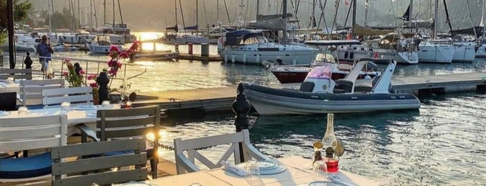 Grida Port is one of Fethiye.