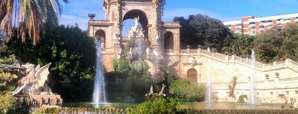Parc de la Ciutadella is one of Barcelona, Spain.