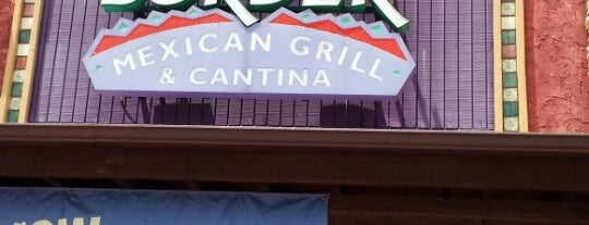 On The Border Mexican Grill & Cantina is one of Orte, die Breanna gefallen.