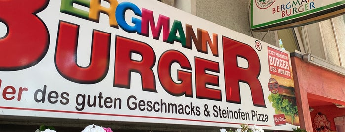Bergmann Burger is one of Lieux sauvegardés par N..