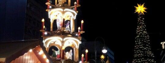 Weihnachtsmarkt an der Gedächtniskirche is one of Allemagne ♥︎.